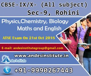 Coaching for CBSE & Entrance, Physics, Chemistry and Math At sector 9 Rohini, New Delhi.
